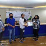 Pemkot Tomohon Terima Bantuan 200 Paket Sembako Dari BPJS Ketenagakerjaan