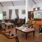 Walikota Jimmy Eman Pimpin Rapat Forkopimda Kota Tomohon