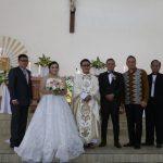 Walikota JFE Hadiri Pernikahan Pasangan Philip Senduk Dan Elvin Montolalu