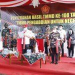 Bupati ROR Resmi Tutup Pelaksanaan TMMD Kodim 1302 Minahasa di Langowan Utara