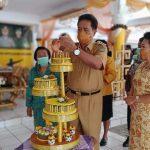 HUT Ke-59 Tahun , Gaghana Ajak Jajaran Pemda Bersama Membangun Sangihe