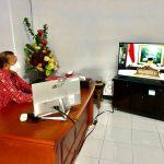 Sekda Muntu Bahas Penyederhanaan Birokrasi Dengan Wapres Ma'ruf Amin