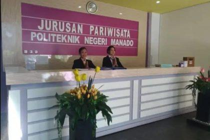 Kampus Jurusan Pariwisata Politeknik Negeri Manado
