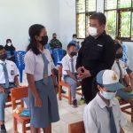 Perkuat Wawasan Kebangsaan, Kesbangpol Sangihe Kunjungi Pulau-Pulau Terluar