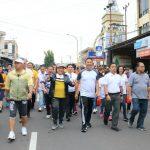 Buka Kegiatan HUT Kota Tomohon ke-15, Pemkot gelar Jalan sehat bersama