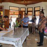 Jabatan para Asisten dan Kabag Umum Sekretariat Daerah Kota Tomohon diserah terimakan