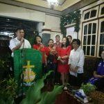 Mewoh beri kesaksian saat gelar ibadah syukur menjadi PLT Bupati Minahasa