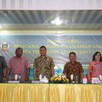 Wali Kota Eman Buka Sosialisasi RUPM Kota Tomohon 2017-2025