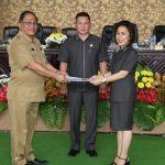 DPRD Tomohon Gelar Paripurna Penjelasan Wali Kota Mengenai Ranperda Perlindungan Anak