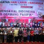 Peringatan Hari Pancasila di Minahasa Sukses,serta peluncuran buku karya Gubernur Olly Dondokambey.