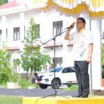 Wali Kota Eman, Pimpin Apel Kerja Pasca Cuti Idul Fitri 1439H