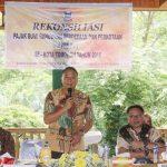 Wali Kota Tomohon Jimmy Eman, Buka Rekonsiliasi PBB-P2 Kota Tomohon Tahun 2018