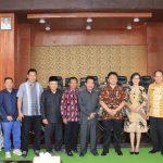 DPRD Kota Tomohon Terima Kunjungan DPRD Kabupaten Kediri