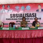 Mentu Wakili Wali Kota Jadi Pemateri Lounching Samsat Mobile dan Sosialisai Sadar Pajak Daerah