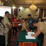 Wali Kota Eman, Tanda Tangani Kerjasama APIP Dengan APH Lingkup Kabupaten Kota Se Sulut