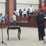 Andrei Angouw Lantik Arifin Dunggio Sebagai Anggota DPRD Sulut