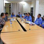 Sundah Pimpin RDP Dengan BKPPD Kota Tomohon