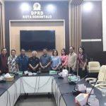 Terkait Pengelolaan Dana Hibah, Komisi II DPRD Kota Tomohon, Kunker Ke DPRD Kota Gorontalo