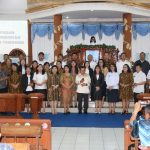 Mentu Wakili Walikota, Hadiri Safari Natal Kecamatan Se Kota Tomohon