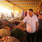 Jelang Natal dan Tahun Baru, TPID pantau langsung ketersediaan dan harga bahan pokok di Pasar Beriman Tomohon