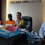 Dua Pekerja Toko Bangunan diTondano adu mulut berujung Maut.