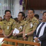 Walikota Jimmy Eman Hadiri HUT Pertama Jemaat GMIM Damai Ladendong