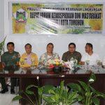 Walikota Tomohon Pimpin Rapat FKDM Kota Tomohon 2019