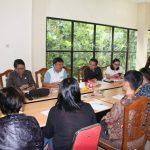 Keles Pimpin RDP Komisi II Dengan Diskominfo Kota Tomohon