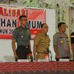 Bupati Minahasa ROR Buka Sosialisasi Pemilu 2019