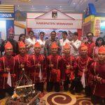Tim Kesenian IWWM Tampil di Launching CoE Pariwisata 2019 Kemenpar RI