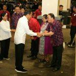 Presiden Jokowi di dampingi Ibu Negara Hadiri KGM X PGI 2019 di Sulut