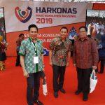 Walikota Tomohon Jimmy Eman, Hadiri Harkornas 2019