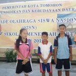 O2SN SD/SMP Dan GSI SMP Tingkat Kota Tomohon Tahun 2019 Digelar