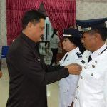 Roring Lantik Dua Pejabat Kapitalaung Kecamatan Manganitu