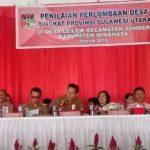 Lomba Desa Tingkat Provinsi Sulut Desa Leilem Wakili Kabupaten Minahasa
