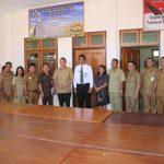 Walikota Jimmy Eman, Menerima Kunker Inspektorat Kabupaten Kepulauan Sangihe