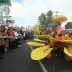 Tomohon Meriahkan Karnaval Budaya Festival Pesona Bunaken 2019