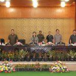 DPRD Tomohon Gelar Paripurna Tanggapan Walikota Perubahan APBD T.a 2019