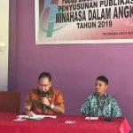 Pemkab Bekerja sama dengan Badan Pusat Statistik (BPS) Minahasa menggelar Focus Discussion Group (FDG)