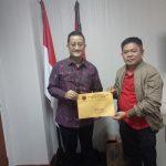 Denny Lolong Direstui DPP PDI-P Jabat Ketua DPRD Minut