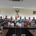 Wenur Pimpinan Banggar DPRD Konsuiltasi Ke Bawaslu RI