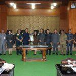 Walikota Eman Hadiri Rangkaian Paripurna DPRD, Perubahan APBD Kota Tomohon T.a 2019