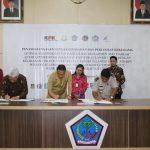Walikota Jimmy Eman Tandatangani MoU Optimalisasi Pendapatan Dan Manajemen Aset Daerah