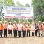 Walikota Eman Letakkan Batu Pertama Pembangunan Rudis Dan Kantor Lapas Perempuan Kelas IIB Manado