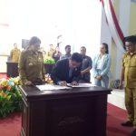 5 Fraksi DPRD Minut Setujui Penetapan RAPBD Perubahan APBD 2019