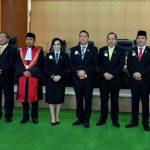 Walikota JFE Hadiri Paripurna Pelantikan Pimpinan DPRD Kota Tomohon 'Definitif'