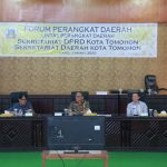Sekkot Lolowang Buka Kegiatan Forum Perangkat Daerah