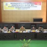 Anggota DPD RI Dapil Sulut, Kunker Di Kota Tomohon