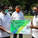 Tangani Dampak Covid-19, Pemkab Sangihe Serahkan 1057 Paket Bahan Pokok