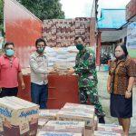 Penyaluran Bansos oleh Dinsos Kabupaten Minahasa tahap satu di 25 kecamatan berjalan lancar